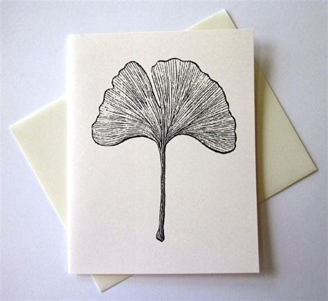 ginkgo leaf tattoo ginkgo leaf note cards stationery set of 10 cards by