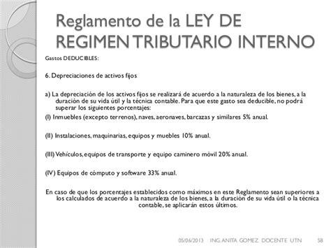 Reglamento A La Ley De Regimen Tributario Interno Ao 2014   reglamento a la ley de regimen tributario interno