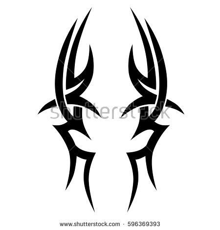 simple tribal tattoo design image gallery tattoo ideas tattoo tribal vector designs sketch simple stock vector