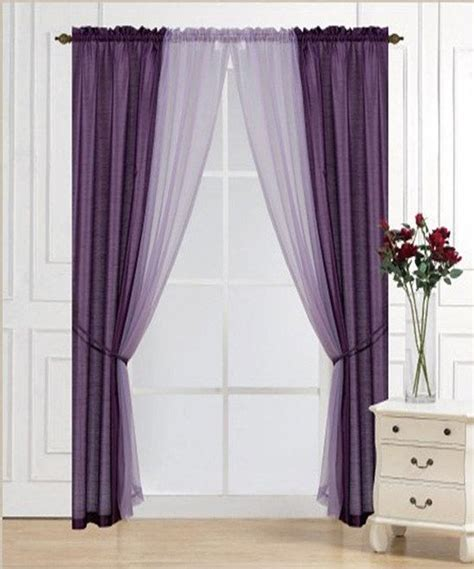 Gray And Purple Curtains Ideas 45 Best Images About Purple And Grey Living Room On Pinterest Canopy Curtains Summer Stripes