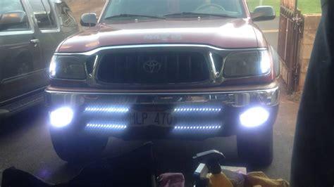 04 tacoma lights 01 04 tacoma blinker fog light mod