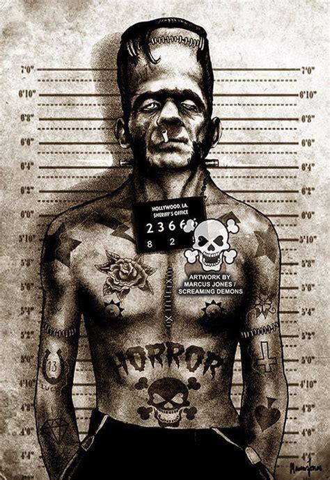 tattoo art prints 17 best ideas about frankenstein on