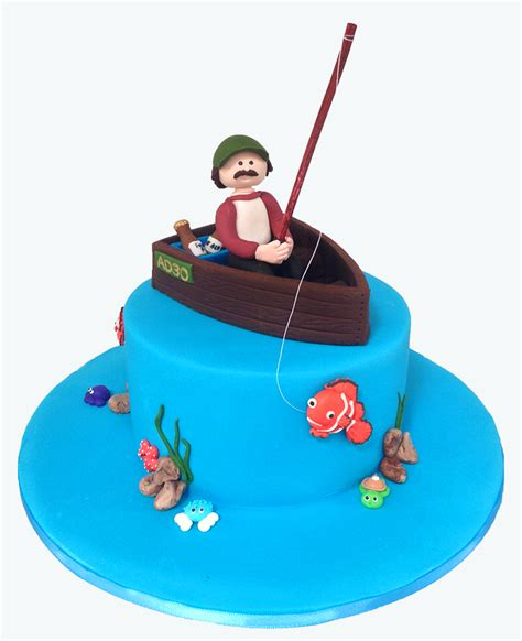 how to make a fishing boat cake topper something for cake blog