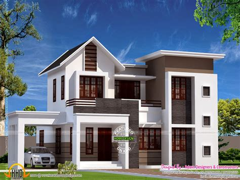 october kerala home design floor plans modern house