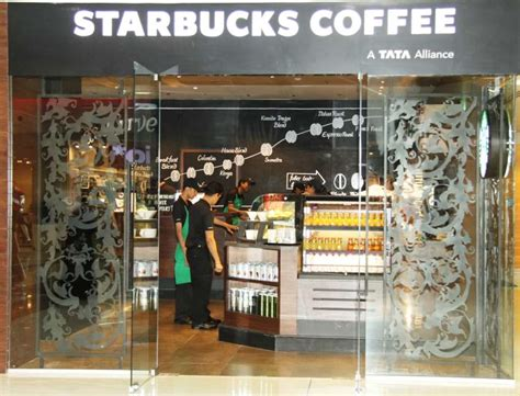 starbucks stores outlets restaurants  korum mall