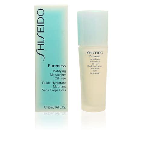 Moisturizer Shiseido shiseido cosmetics pureness matifying moisturizer
