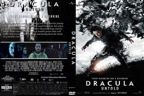 download film baru dracula untold dracula untold dvd cover label 2014 r0 custom art