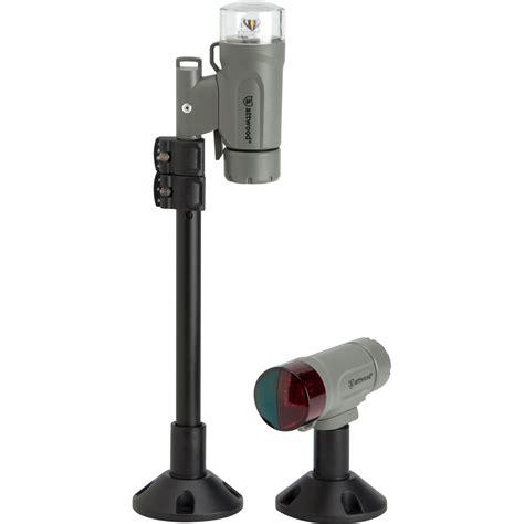 boat navigation light kit attwood paddlesport portable navigation light kit screw