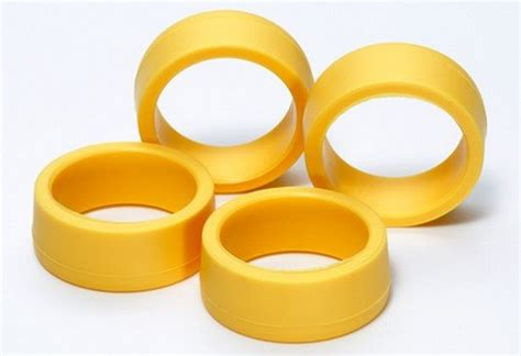 tamiya 95205 low profile offset tread tires yellow