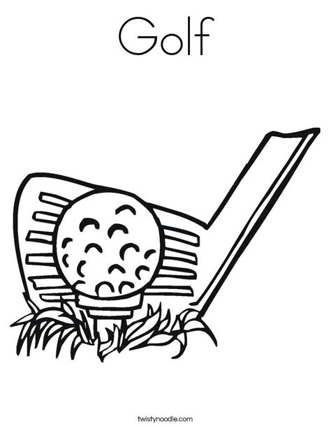 golf coloring book pages 17 best images about golf on pinterest activities