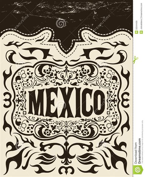 western design elements vector free mexico western elements set mexican holiday royalty free