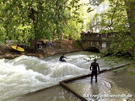 Englischer Garten München Eisbach Surfen by Tourismus Freizeit In M 252 Nchen