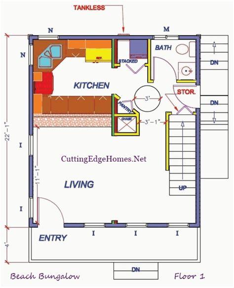 beach bungalow floor plans beach bungalow cutting edge homes