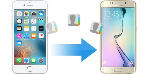 transferring contacts from android to iphone how to transfer contacts from iphone to android