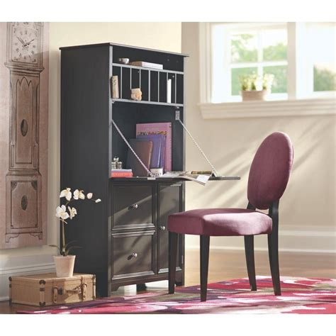 home decorators desks home decorators collection oxford black secretary desk