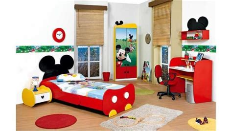 bedroom furniture for with mickey mouse themes