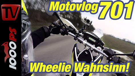 Motorrad Wheelie Lernen by Husqvarna 701 Wheelie Wahnsinn Wheelies Richtig