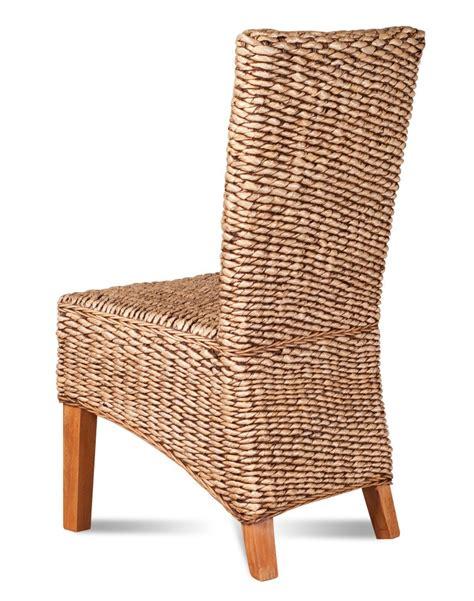 Banana Leaf Dining Chair Dining Chair Light Banana Leaf Weave Casa Rattan Furniture