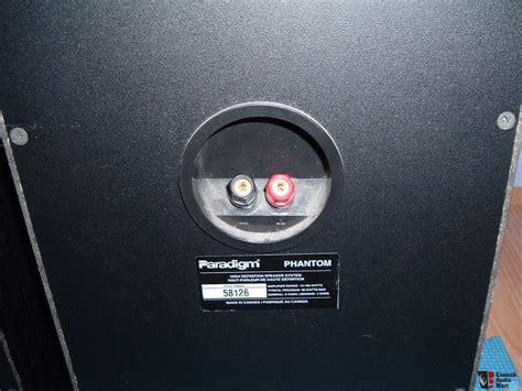 The Phantom Paradigm paradigm phantom v1 speakers photo 1225759 canuck audio