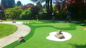 backyard golf course how to design a mini golf course in your backyard