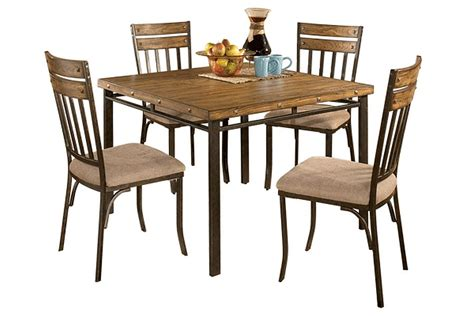 decor market palisade rectangle dining table dining signature design by ashley d373 225 lawrence square dining