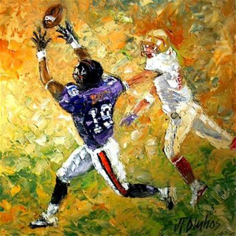 soccer painting football sports painting