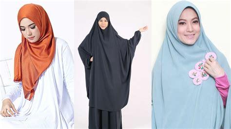 Kerudung Jilbab Islami Khimar Ainun perbedaan jilbab khimar dan kerudung tarbiyah