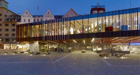 Modern Restrooms Fish Market In Bergen Eder Biesel Arkitekter Archdaily
