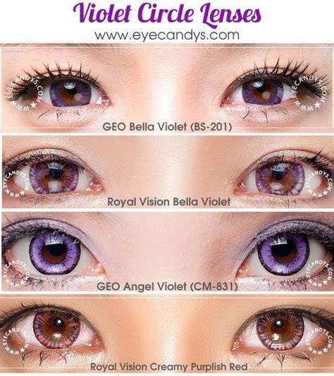 violet colored violet purple colored contacts circle lenses picspam