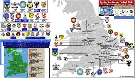 epl viewer pin epl map of teams english football clubs 2011 12 season