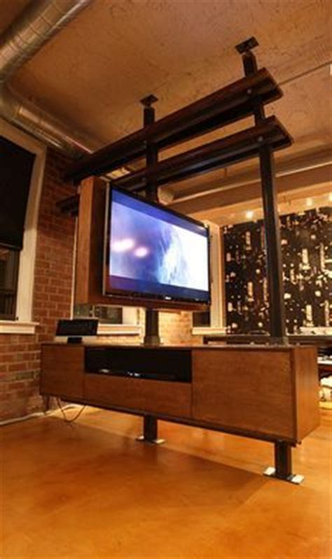 tv stand in middle of room custom made lexington room divider bookshelf tv stand