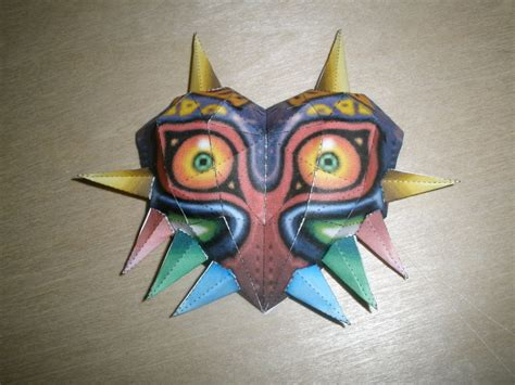Paper Craft Masks - majora s mask papercraft by inuizayoi on deviantart