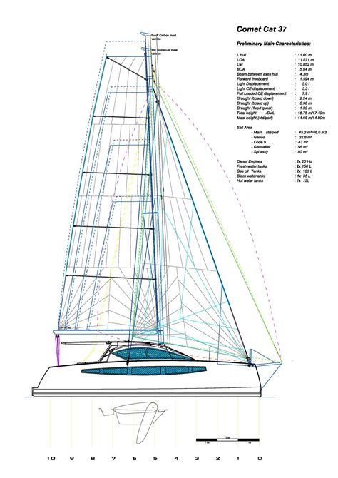 catamaran a vendre nc c catamarans 37 catamaran voilier quillard neuf 224 la