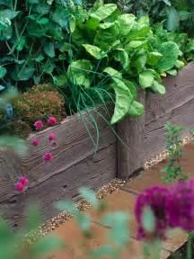 id 233 es de bordure de jardin en bois et m 233 tal