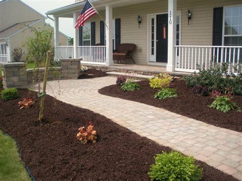 Design Garden Ideas Mulch Landscaping Ideas Design Jbeedesigns Outdoor