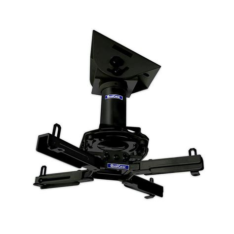 qualgear pro av projector mount kit with a vaulted ceiling