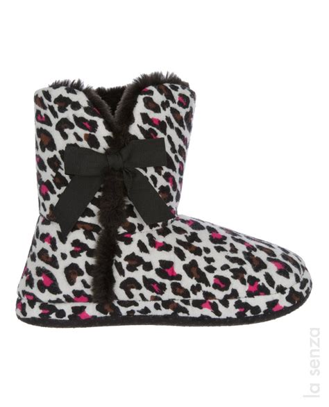 la senza slippers 38 best animal print slippers images on