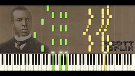 tutorial piano ragtime scott joplin piano rags the entertainer ragtime 32