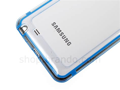 Flexsible Charger Samsung Note 1 N7000 samsung galaxy note transparent ultra slim bumper