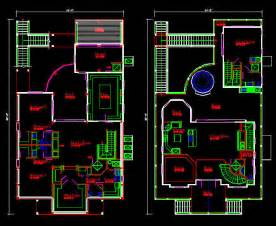 cad house free 2d cad floor plan