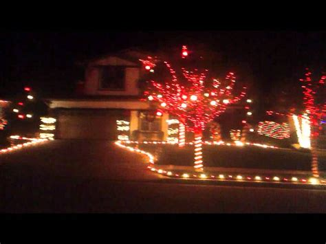 christmas light show yucaipa ca youtube