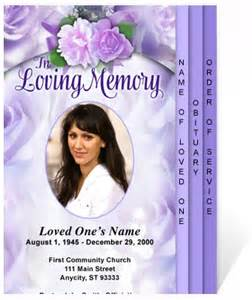 Free 4 Page Graduated Fold Funeral Program Templates Program Template Beautiful And Memorial Service Program