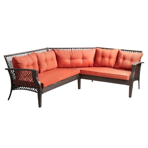 cushion sectional patio sofa tree shops