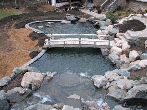 backyard pond builders best 25 pond construction ideas on pinterest swimming