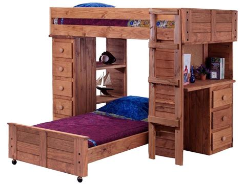 loft bed with desk and drawers furniture full size corner loft bunk bed with desk and