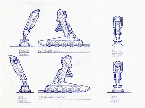 landing gear of colonial viper images