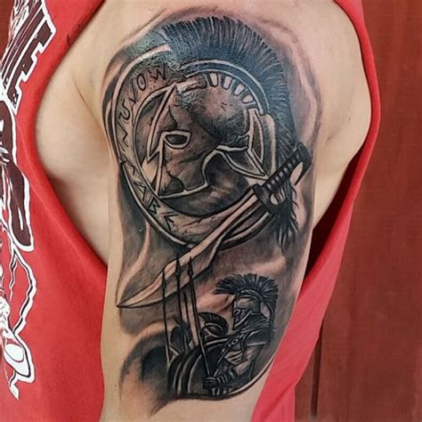 sheild tattoo 21 spartan designs ideas design trends
