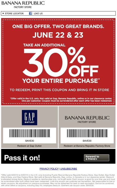 gap outlet printable coupon december 2015 banana republic coupons outlet 2017 2018 best cars reviews