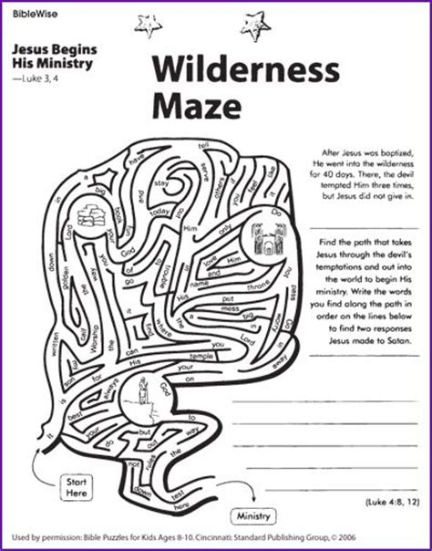 coloring pages jesus tempted desert jesus tempted sunday school pinterest maze kid and