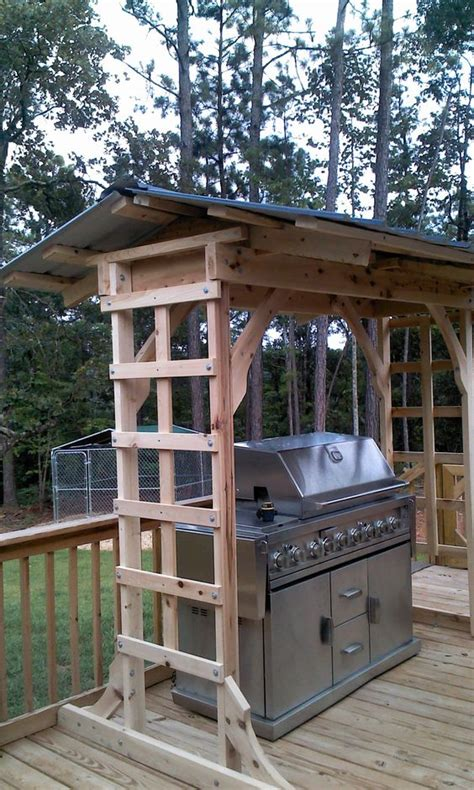 Portable Kitchen Island Bar 21 Grill Gazebo Shelter And Pergola Designs Shelterness